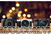 So sánh Canon EOS M50, Fuji X-A5, và Sony Alpha A6300