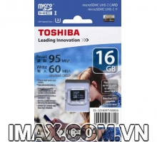Thẻ nhớ Micro SDHC Toshiba 16GB UHS-I, U3, 95/60MB/s