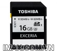Thẻ nhớ Toshiba SDHC 16GB UHS-I, U3, 95/60MB/s