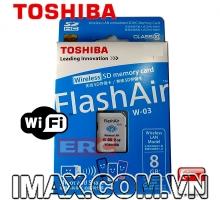 Thẻ nhớ Wifi Toshiba SDHC 8GB Class 10, W-03