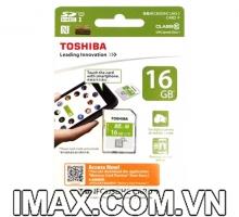 Thẻ nhớ SDHC Toshiba NFC 16GB Class 10