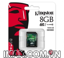 Kingston SDHC 8GB Class 10, UHS-I, 30MB/s
