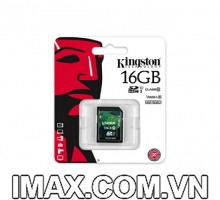 Kingston SDHC 16GB Class 10, UHS-I, 30MB/s