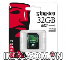 Kingston SDHC 32GB Class 10, UHS-I, 30MB/s
