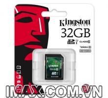 Kingston SDHC 32GB Class 10, UHS-I, 30MB/s
