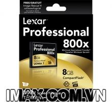 Thẻ nhớ CF Lexar 8GB 800X~120MB/s