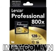 Thẻ nhớ CF Lexar 128GB 800X~120MB/s