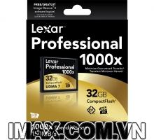 Thẻ nhớ CF Lexar 32GB 1000X-150MB/s