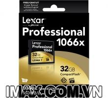 Thẻ nhớ CF Lexar 32GB 1066X~160MB/s