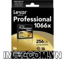 Thẻ nhớ CF Lexar 256GB 1066X~160MB/s