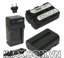 Bộ 2 pin 1sạc Wasabi for Sony NP-FM500H