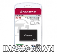 Đầu đọc thẻ All in One Transcend USB 3.0 Super Speed Multi-Card Reader for SD/SDHC/SDXC/MS/CF Cards (TS-RDF8W)