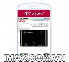 Đầu đọc thẻ All in One Transcend USB 2.0 for SD/SDHC/SDXC/MS/CF Cards (TS-RDP8K)