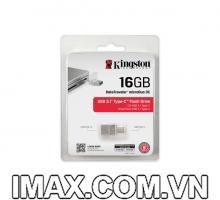USB Kingston 16GB DataTraveler microDuo 3C USB Type-A và USB Type-C - 100MB / s