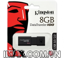 Kingston Digital 8GB DT100 G3 USB 3.0 DataTraveler