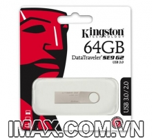 DataTraveler SE9 G2 USB 3.0 64GB, nguyên khối, không nắp
