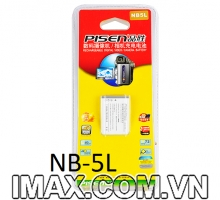 Pin Pisen for Canon NB-5L