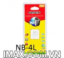Pin Pisen Canon NB-4L