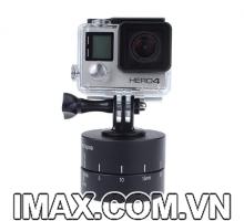 Đế chụp ảnh Timelapse 360 độ  bản 120 phút cho Gopro, SJCam, Xiaomi, Điện thoại,..