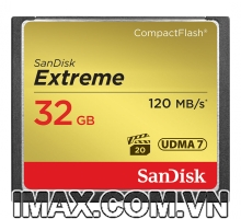 Sandisk CF 32GB Extreme 120MB/s