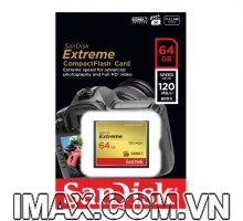 Thẻ nhớ CF 64GB Sandisk Extreme 120MB/s