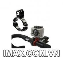 Kẹp kim loại gắn máy quay Gopro, Xiaomi, SJcamcho xe đạp, xe máy, khung xe, các vật dụng khác