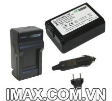 Bộ 1 pin 1 sạc máy ảnh Wasabi for NP-FW50