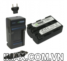 Bộ 1 pin 1sạc Wasabi for Sony NP-FM500H