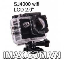 Camera SJCAM SJ4000 Wifi 2.0, New LCD 2.0, Tặng Combo Phụ kiện