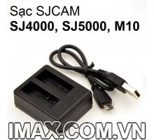 Dock sạc pin đôi cho SJCAM SJ4000, SJ5000, M10
