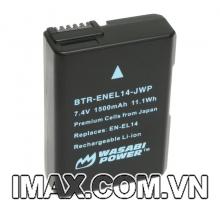Pin máy ảnh wasabi for nikon EN-EL14