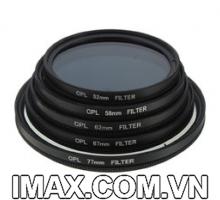Kính lọc phân cực chống lóa Filter CPL Canon 62mm