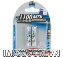 Pin sạc AAA 1100mAh ANSMANN NiMH Micro 1.2V, vỉ 2 viên