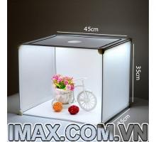 Hộp chụp sản phẩm 45cm có đèn Led 3D siêu sáng