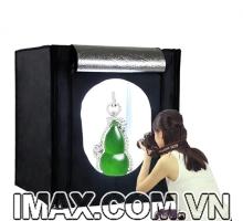 Hộp chụp sản phẩm Seny SN-80 Đèn Led siêu sáng cao cấp 80x80cm giá rẻ nhất