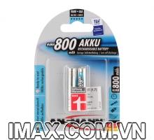 Pin sạc AAA 800mAh Ansman NiMH Micro 1.2V , vỉ 2v