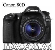 Canon 80D Kit 18-55mm IS STM ( Hàng nhập khẩu )