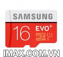 Thẻ nhớ Samsung Micro SDHC 16GB Evo Plus 80/20 MB/s