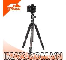 Chân máy ảnh Coman TM258CC0, Carbon