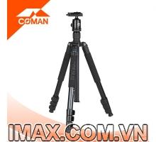 Chân máy ảnh Coman TK-287+CV-1