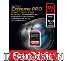 Thẻ nhớ SDXC Sandisk 128GB 2000X 300MB/s UHS-II