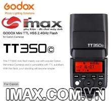 FLASH GODOX TT350C FOR CANON- HÀNG CHÍNH HÃNG GODOX