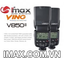 FLASH GODOX VING 850II  GN58 HSS FOR CANON/NIKON/PENTAX/SONY...- HÀNG CHÍNH HÃNG GODOX