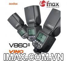 FLASH GODOX V860IIN TTL FOR NIKON- HÀNG CHÍNH HÃNG GODOX