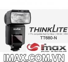 Đèn flash GoDox TT680N for Nikon - Hàng chính hãng Godox