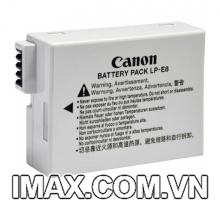 Pin chính hãng Canon LP-E8 dùng cho Canon EOS 550D 600D 650D 700D, Rebel T2i T3i Digital T4i