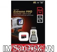 Thẻ nhớ Sandisk Micro SDXC 64GB 275/100MB/s