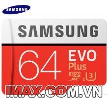 Thẻ nhớ Samsung Micro SDXC EVO Plus 64GB 100/60MB/s