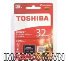Thẻ nhớ Toshiba Exceria micro SDHC 32G 90MB/s