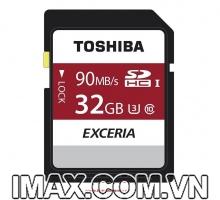 Thẻ nhớ Toshiba Exceria SDHC 32GB 90MB/s